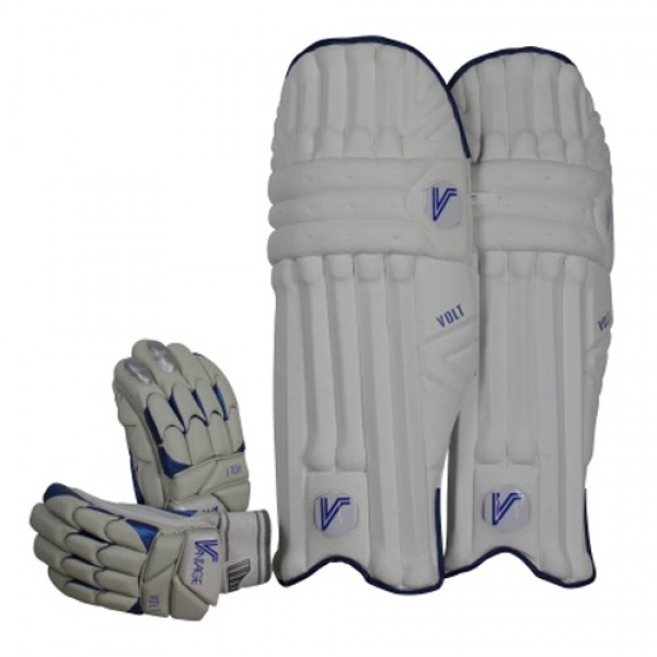 Vantage Volt Junior Pads & Gloves Bundle