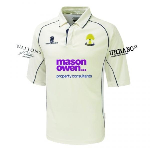 Barrow CC Playing Shirt 3/4 Sleeve