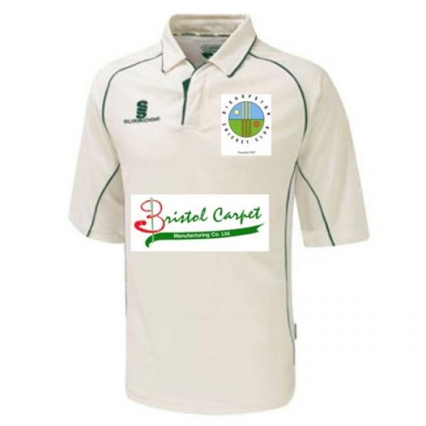 Bishopston CC Playing Shirt 3/4 Sleeve