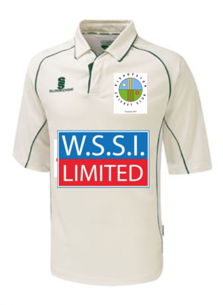 Bishopston CC Playing Shirt 3/4 Sleeve