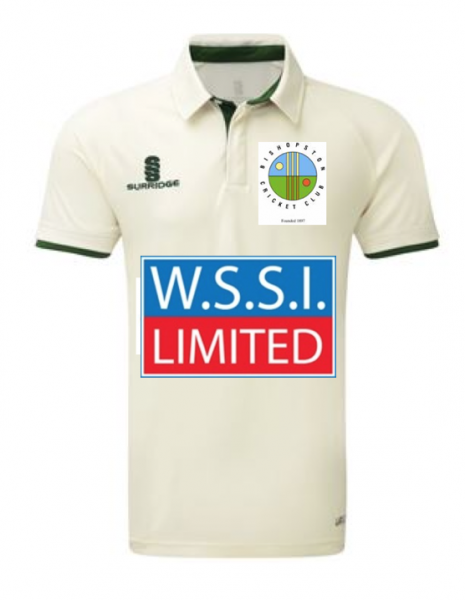 Bishopston CC Playing Shirt Short Sleeve